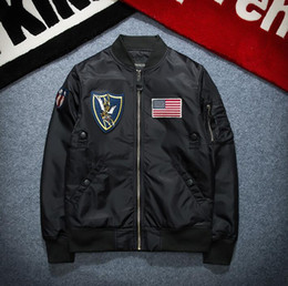 $enCountryForm.capitalKeyWord Canada - New arrival hot sales men military bomber jacket brand style clothing army military ma1 spring clothes coat casual hip hop swag