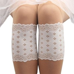 Discount boots beautiful - Wholesale-Newly Design Beautiful Soft Lace Flower Thin Leg Cover Boot Cuffs Nov24