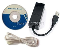 20PCS Modem de télécopie USB 2.0 Modem de télécopie externe 56K Modem Livraison gratuite