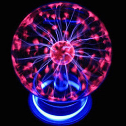 Discount ion blue Touch induction plasma, electrostatic magic lightning ball 3 inch USB magic crystal ion electrostatic induction ball