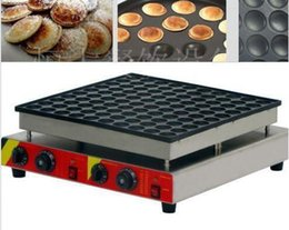 Electric Pancake Machine Canada - 100pcs Commercial Electric Poffertje Mini Dutch Pancake Machine Maker Iron Baker
