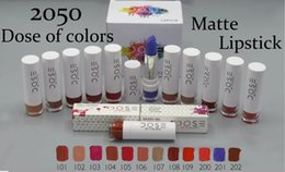 popular lip colors 2019 - Dose of Colors Classic Lipstick Matte Lipsticks Make Up Long Lasting Lip Sticks Waterproof Lip Cosmetics 2016 Popular In