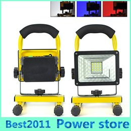 $enCountryForm.capitalKeyWord Canada - Multi-colors LED 10W Rechargeable Flood Light 3 Modes Portable Spot Work Camping Fishing USB Lamp Outdoor Weatherproof 10W