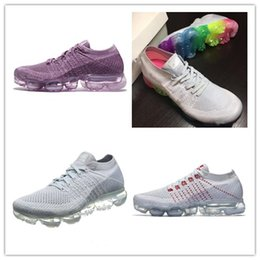 the cheapest for sale 2018 New Rainbow VaporMax Men Women Shock Shoes Running Shoes For High Quality Fashion Casual Vapor Maxes Woven Surface Sports Sneakers Cheapest sale online 2ZsGOL