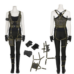 Women Costume Resident Evil The Final Chapter Alice Costume Halloween Carnival Cosplay Costume For Women  sc 1 st  DHgate.com & Resident Evil Cosplay Costumes Australia | New Featured Resident ...