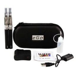$enCountryForm.capitalKeyWord UK - E-Cigarette EGO ce4 Starter kit E-cig Kits EGO-T kit Double cigarettes Zipper Case Pack Various Colors 650mah ego kits DHL