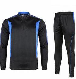 2017 Nuevo estilo Otoño invierno Traje recreativo traje de entrenamiento de Fútbol El juego ropa de Fútbol pantalones tamaño s-xl