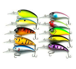 topwater hard bait 2018 - 10pcs of bionic topwater fishing lure artificial baits hard crankbait fishing accessories fake lures pesca tackle hooks