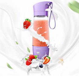 Discount stainless steel power NEW JUICING EPOCH 16oz electric juice bottle bpa 450ml fruit water bottle free plastic juice bottle with Power bank