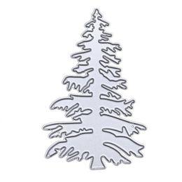 $enCountryForm.capitalKeyWord Canada - New Christmas Tree White Pine Metal Cutting Dies Stemcil for DIY Scrapbooking Photo Paper Card Creation Gift Decor Embossing Dies