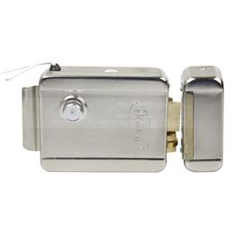 DIYSECUR NO Modèle Système de sécurité de serrure de porte à serrure électronique pour Veideo Système de contrôle d'accès pour sonnette de porte en Solde