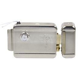 Chinese  DIYSECUR NO Model Electronic Lock Door Lock Security System for Veideo Door Phone Doorbell Intercom Access Control System manufacturers