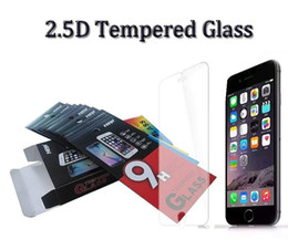 g5 screen glass NZ - Tempered Glass Screen Protector Film For iPhone 5 5S 6 6S Plus Samsung S6 Plus LG G4 G5 HTC M9 Plus SONY Z5 Premium With Retail Package