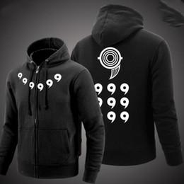 Wholesale naruto costume hoodie resale online - Cardigan Thick Long Sleeve Costume Anime Naruto Hoodie UZUMAKI NARUTO Zipper Hooded Sweatshirt Top Qulity