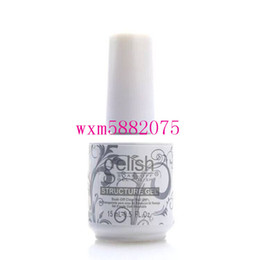 Harmony gelisH online shopping - High quality Harmony Gelish Nail Polish STRUCTURE GEL Soak Off Clear Nail Gel top coat Foundation Top it off Nail art foundation gel