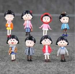 4 45cm Anime Cute Chibi Maruko Chan PVC Action Figure Collection Model Toy For Kids Free Shipping EMS