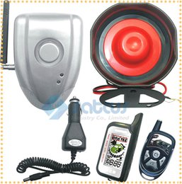 no diy lcd two way car alarm auto security system wireless vibration shock alarm siren and no wires connect to car