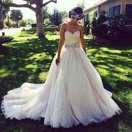 Discount Rustic Country Wedding Dresses | 2018 Rustic Country Lace ...