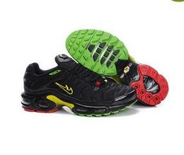 Discount army air - 2017 Newert Mens Running Shoes TN Shoes Men PLUS TXT TN Black Air cushion shoes Lace Sneakers Size US 7-12