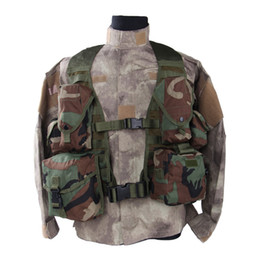 Molle vest gear online shopping - Outdoor Tactical gear Polyester Wargame and Airsoft equipement ALV MOLLE II Tactical Vest