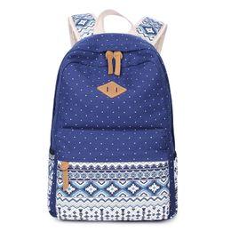 Lights & Lighting Honesty Girls School Backpack Fashion Girl Schoolbag Female Korean Style Blue Canvas Cartoon Backpack Cute Plush Ball Kids Bag