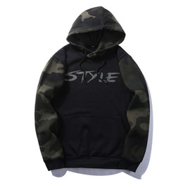 $enCountryForm.capitalKeyWord UK - Wholesale- USA SIZE Solid Pullover Hoodie Winter Warm Cotton Black White Gray Navy Blue Camouflage 10 Colors Sweatshirt Men Thick Hoodies