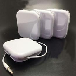 Auriculares intrauditivos con micrófono y control de volumen Auriculares para iPhone6S 5S Plus con caja para minoristas en venta