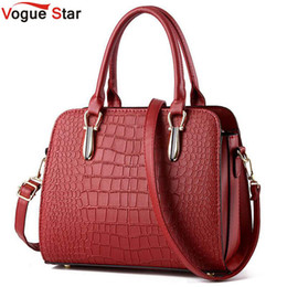 $enCountryForm.capitalKeyWord Canada - Vogue Star 2016 Hot women handbag crocodile style leather handbag messenger bag shoulder bag high quality bolsas pouch YB40-431