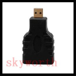 $enCountryForm.capitalKeyWord Canada - HDMI Type A Female to Micro HDMI D Male Gold Plated Adapter Converter Connector DHL free shipping