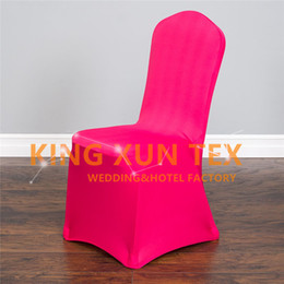 Usines De Portes À Vendre Pas Cher-Hot Sale Lycra Spandex Chair Cover Prix d'usine bon marché pour Wedding Event Decoratopn Fast To Door Shipping
