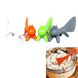 $enCountryForm.capitalKeyWord UK - Wholesale- Hot Sale BEST Cute Plastic PP Cartoon Home Kitchen Squirrel Shape Rice Scoop Spoon Soup Sauce Paddle Ladle Free Shipping