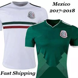 ... New Mexico Top Thai quality 2018 World Cup National jersey 2017 2018  CHICHARITO Soccer Wear G ... fabf60f10d1b