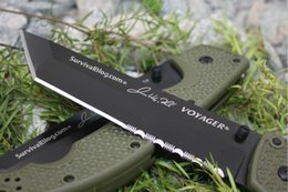 custom tanto knife 2019 - Combat Knife 2 Styles Cold Steel Knife 29UXTGH VOYAGER XL CTS XHP Tanto knife Voyager Series Custom Edition Survival Gif