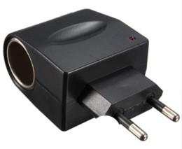 Power Socket Eu Australia - New Best Price 220V AC to 12V DC Car Cigarette Lighter Wall Power Socket Plug Adapter Converter EU US Super Qaultiy
