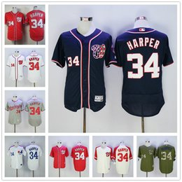 newest collection 58d8e a8e91 spain nationals 34 bryce harper white cool base stitched ...