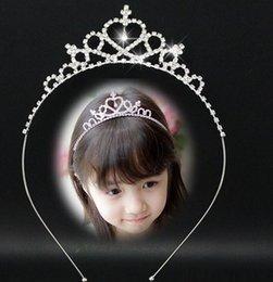 Детская корона детские волосы луки девочки диадемы дети шпильки детей аксессуары для волос детские волосы Луки детские аксессуары для волос FJ26