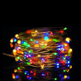 $enCountryForm.capitalKeyWord Canada - SOLSOLAR 10M 100LED Novelty Copper Fairy Lights 5V USB LED Night Light For Toy Desk Flower Home party Decoration nightlight