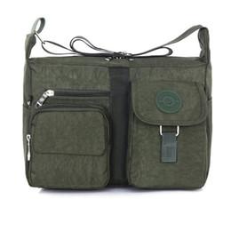 Army style messenger bAg online shopping - Fashion Shoulder Bags Women s Outdoor Leisure Casual Handbag Travel Bag Messenger Cross Body Nylon Bag Sports Day Packs