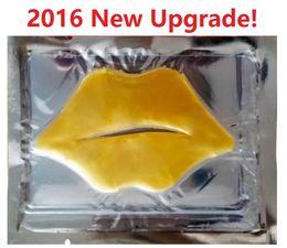 $enCountryForm.capitalKeyWord Canada - Factory Price! 10,000Pcs New Upgrade Women Gold Collagen Protein Crystal Moisturizing Lip Film for Winter Crystal Collagen Lip Mask