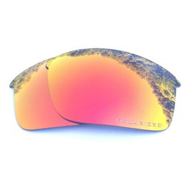 10e5388161dc Orange Red Mirrored Polarized Replacement Lenses for Bottle Rocket Sunglasses  Anti Saltwater Anti dust