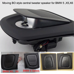$enCountryForm.capitalKeyWord NZ - 1 kit moving acoustic lens BO style car central tweeter speaker woofer for BMW 5 series,X5,X6