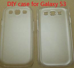 $enCountryForm.capitalKeyWord Australia - Cell phone DIY Hard Crystal Transparent Clear PC Hard Plastic Case For Samsung Galaxy S3 i9300 Mobile Phone Case Back Cover 9300 case