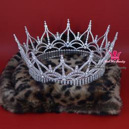 $enCountryForm.capitalKeyWord Canada - Fashion Rhinestone Cronw Full Round Large Men`s King`s Hair Wear Tiara Royal Jewelry Pageant Party Show Hairddress Queen Mo185