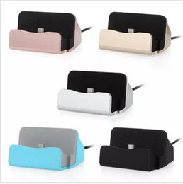 Wholesale Micro USB Charger Docking Stand Type c Holder Chargers Cradle Charging Sync Dock for iPhone s Plus Samsung s6 s7 s8 plus note Android
