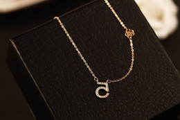 Elegant Diamond Chokers NZ - The trend of high quality zinc alloy fashion exquisite simple and elegant lady temperament and the wind seasons all-match short necklace