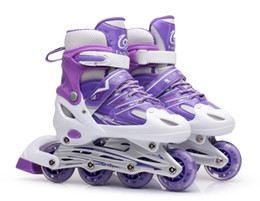 $enCountryForm.capitalKeyWord UK - hot selling Collectibles Children skates full suite 13-5-8-11-12 years full flash adjustable roller skates PU single row
