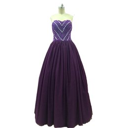 $enCountryForm.capitalKeyWord UK - Vinoprom Off the Shoulder Purple Sweetheart Appliqued Evening Formal Beaded Short Sleeve Lace 2018 Prom Dresses
