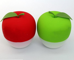 2 estilos Apple Green Duplo ou vermelho Single Lobed Full Lip Plump Enhancer Sucção Red Beauty Lip