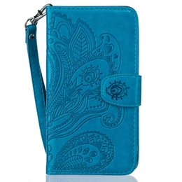 Huawei p8 lite poucHes online shopping - Mandala Flower Strap Wallet PU Leather Pouch Case For Samsung Galaxy S8 PLUS J510 J310 S5 S6 S7 Edge G530 Huawei P8 LITE TPU Stand Skin