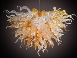 $enCountryForm.capitalKeyWord Australia - Modern Pendant Lamp Hand Blown Glass Chandelier Living Room Art Decor LED Antique Pendant Chandelier Light